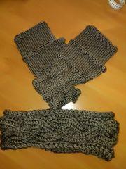 Stirnband und Handstulpen