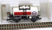 Fleischmann Esso Tankwaggon mit Gleichstromachsen