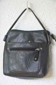 Handtasche klein Es Carté schwarz