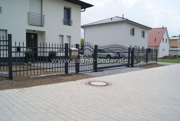 Toranlage Zaune Geländer Zäune aus