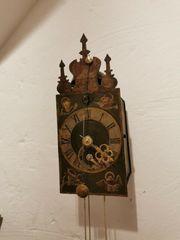 Einzeiger Eisenuhr Wanduhr Uhrmacher