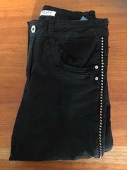 Schwarze Damen Hose von Jewelly