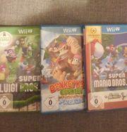 3x WiiU Spiele