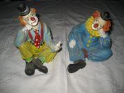 2 Stück Clown Figur Decofigur