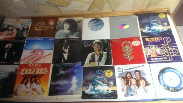 Klassische Vinyl Schallplatten klein groß