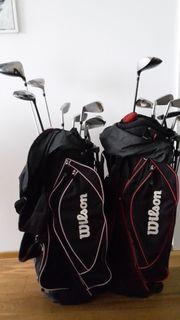 2 Wilson-Einsteigersets-Prostaff RH mit Bags