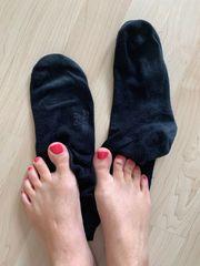 meine extrem getragenen duften schwarzen