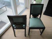 Esszimmerstühle Jugenstilstühle - 4 Vier Stück -