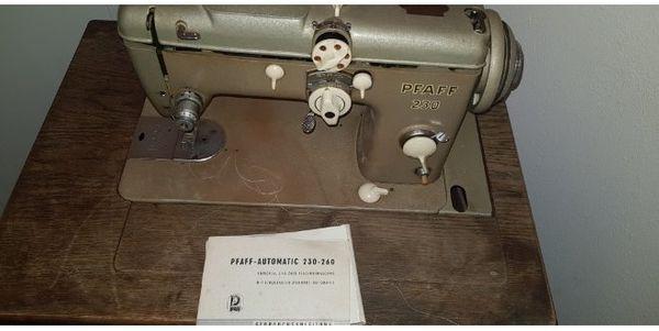 pfaff automatic 230-260