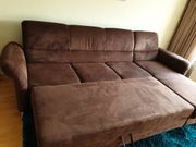 Couch 3-Sitzer mit Ottomane Bettkasten
