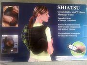 Shiatsu Massage Weste