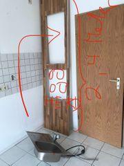 Küchenarbeitsplatte Waschbecken Hahn ausziehbar