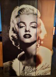 Marilyn Monroe Raumteiler 180 x
