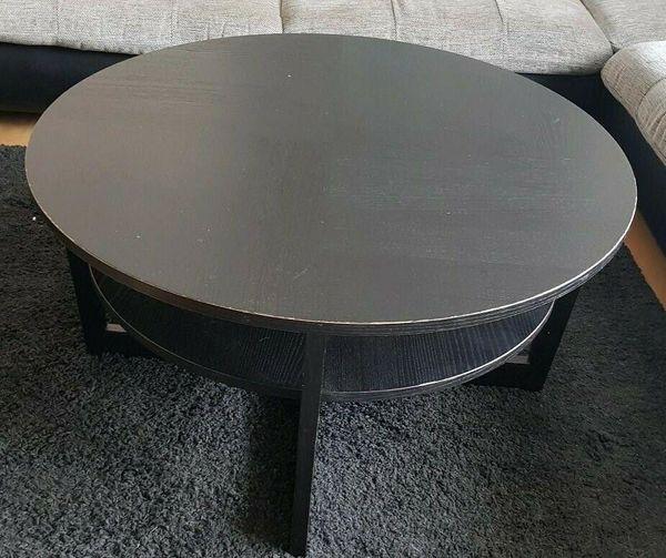 Schöner dunkler Wohnzimmertisch Tisch rund