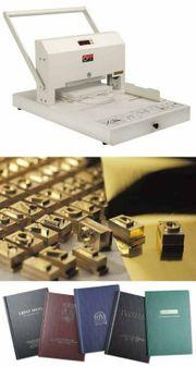 Heißprägemaschine Folienprägung Opus goldpress 4