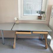 Höhenverstellbarer Schreibtisch von PAIDI