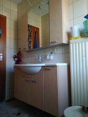 Badeschrank-intergriertes Waschbecken