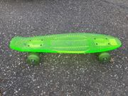 Skateboard mini Firefly Intersport neongrün