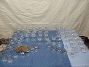 55 Gläser verschiedene Sorten und