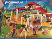 Playmobil 4190 Reiterhof Pferdehof neuwertig