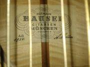 Gitarre Meisterstück Hermann Hauser