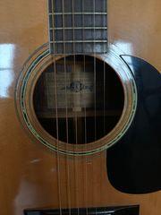 Western - Akustik Gitarre mit Stahlseiten