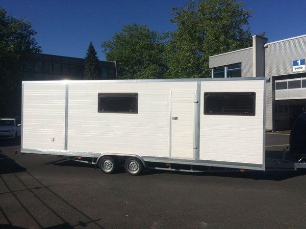 NEU Wohnwagen Montagewagen Multifunktionaler Freizeitwagen