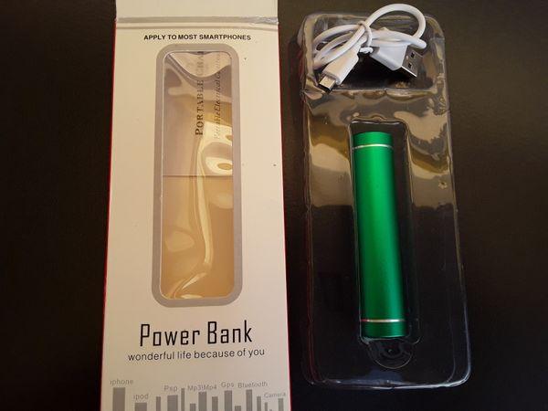 Neue und verpackte Power Bank
