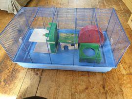Zubehör für Haustiere - Nagertierkäfig Käfig Hamsterkäfig