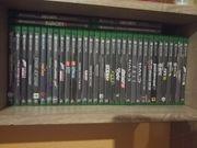 Xbox One X Spiele Sammlung
