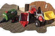 Tretttraktor Rolly Toys mit 2