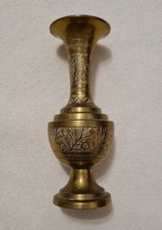 Antike indische Vase aus Messing