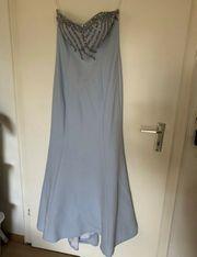 Hellblaues Abendkleid Ballkleid Abiye