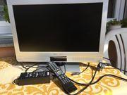 TechniSat FullHD TechniVision 22HD2 Silber