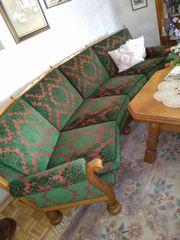 Wohngarnitur Sofa 3 Sessel Federkern