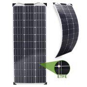 leichte Marine-Solarmodule 2x100W mit MPPT