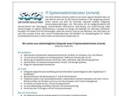 IT-Systemadministrator m w d