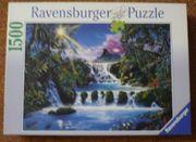Ravensburger Puzzle 1500 Verzauberte Wasserfall