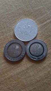 5 00 - Münze 10 00 -