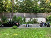 Motorradanhänger Motorradtransporter mieten