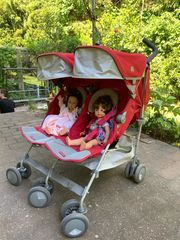 Maclaren Twins buggy Rot