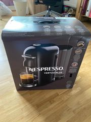 Nespresso Vertuo Plus in Schwarz