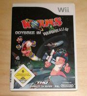 Wii Spiel Worms Odyssee im