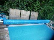 Arebos Aufrollsystem f Poolplanen Länge