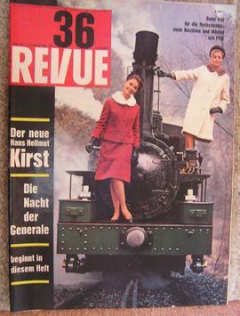 Vintage Zeitschrift Revue vom September 1962: Kleinanzeigen aus Weil am Rhein - Rubrik Zeitschriften, Magazine