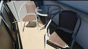 Balkonmöbel Tisch mit 2 Stühlen