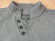 warmer Pullover mit Knopfleiste