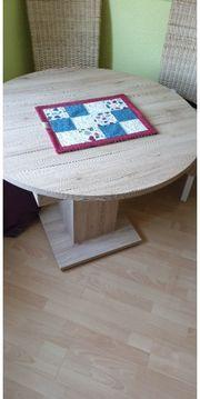 Tisch rund 1m breit kann