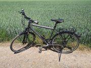 Gudereit Trekking Rad LC-40 matt-schwarz