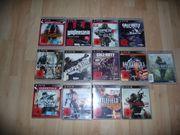 13x PS3 Spiele